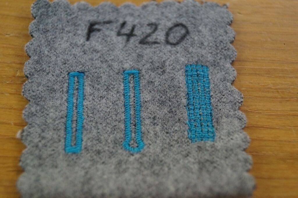 Brother F420 im Nähmaschinentest