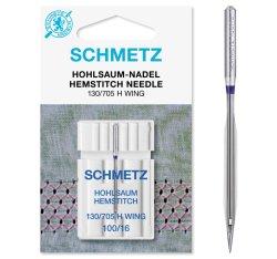 Schmetz Hohlsaum-Nadel Nm100 130/705H WING