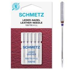 Schmetz Leder-Nadel 5 Stück Nm100 130/705H LL