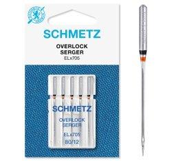 Schmetz Overlock-Nadel 5 Stück Nm80 ELx705