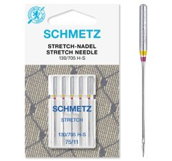 Schmetz Stretch-Nadel 5 Stück Nm75 130/705 H-S