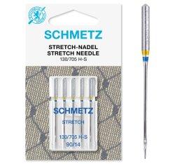 Schmetz Stretch-Nadel 5 Stück Nm90 130/705 H-S