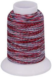 Overlock Bauschgarn multicolor (schwarz-rot-weiß)