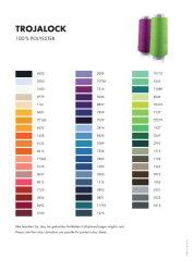 Amann TROJALOCK Overlockgarn No.120 2500m Farbe. 0122
